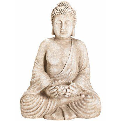 Deko-Figur Buddha sitzend