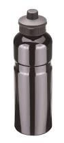 Trinkflasche Alu 0,75l schwarz