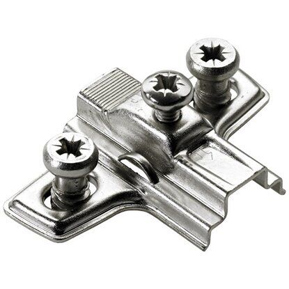Hettich Kreuzmontageplatte für Ø 26 mm Topfscharniere 2 Stück