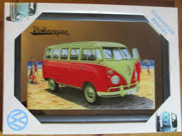Nostalgic Art Vintage Spiegel VW Motiv 30cmx20cm