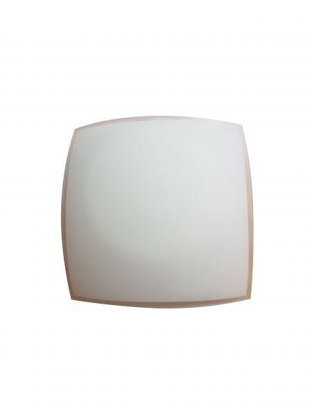 Wand/Deckenleuchte 230V Quadro weiß