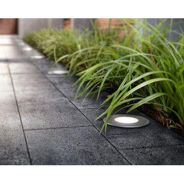 Philips LED-Einbauleuchte Moss Edelstahl EEK: A++