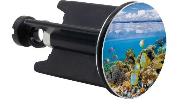 Waschbeckenstopfen Unterwasserwelt