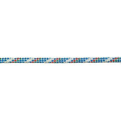 5 m Seilflechter Atlantik-Plus Schot Ø 8 mm Weiss-Blau