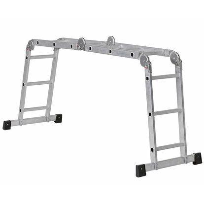 Gelenk-Leiter 3x4 Sproßen