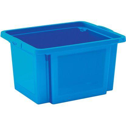 H-Stapelbox 23 l blau 3-Set