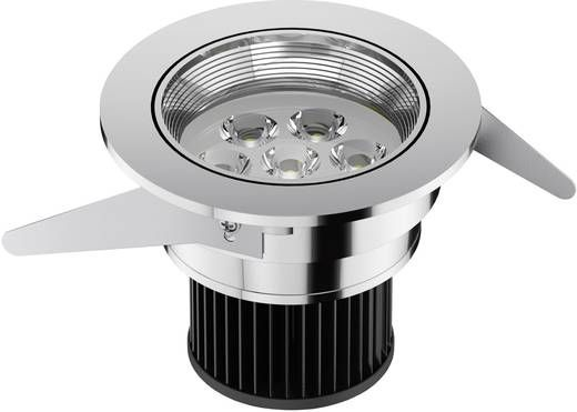 Einbaustrahler IVIOS LED I chrom 6,5 W