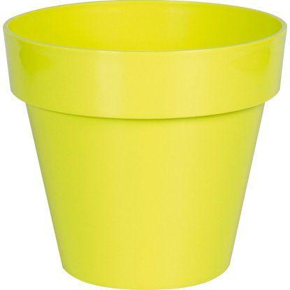 Übertopf 0,26 L 5er Set apfelgrün, rund, Kunststoff