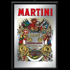 Nostalgic Art Vintage Spiegel Martini 30cmx20cm