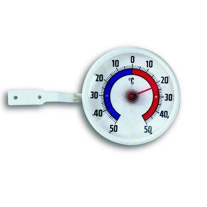 Fensterthermometer mit Befestigung