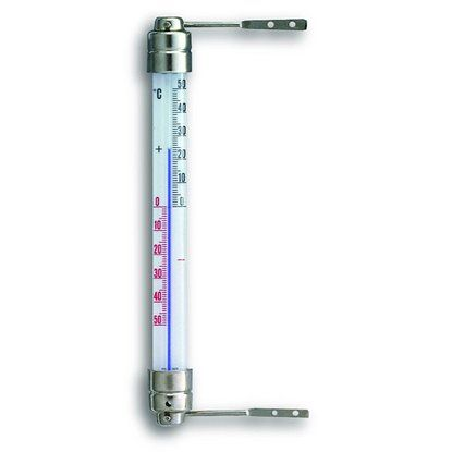 Fensterthermometer Metall