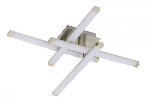 LED Deckenleuchte 4er-Stab Raute mit Acryl
