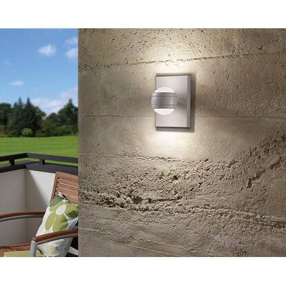 Eglo LED-Außenwandleuchte Sesimba Weiß EEK: A+