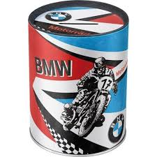 Nostalgic Art Vintage Spardose BMW Motorräder Motiv