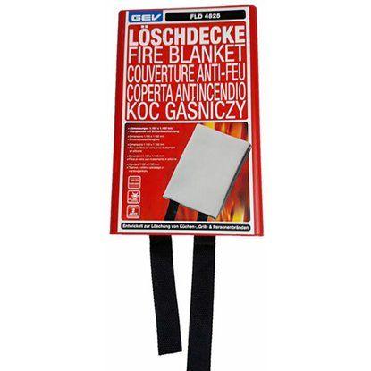 GEV Löschdecke/Feuer FLD 4825 115x115 cm Weiss