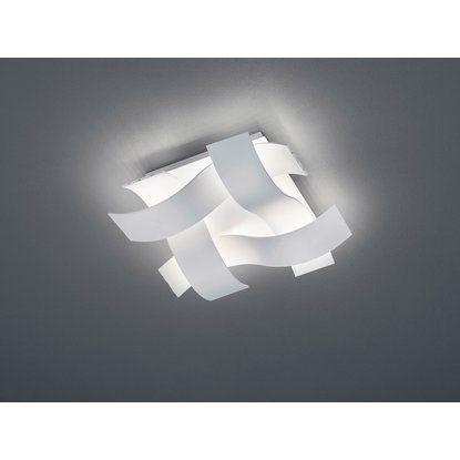 Trio LED-Deckenlampe Ruby Weiß matt 1-flammig 18 W EEK: A+
