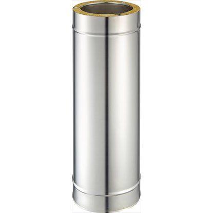 Schornstein-Längenelement 75 cm Ø 150 mm