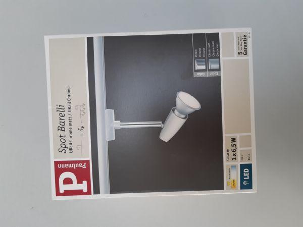 Paulmann URail LED-Spot Barelli 1x6,5 W EEK: A+