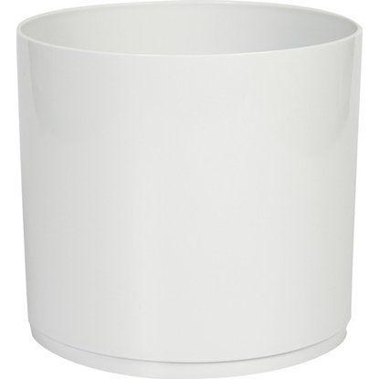 Übertopf 0,2 L 5er Set grau, rund, Kunststoff