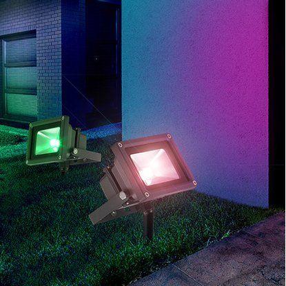 Globo LED-Strahler Projecteur mit Farbwechsler EEK: A